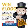 Monopoly North Devon Limited Edition - All Proceeds go to North Devon Hospice