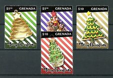 Grenada 2016 MNH Christmas Decorations Ornaments 4v Set Stamps