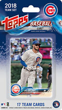 2018 Topps Chicago Cubs Baseball ~ 17-Card Factory Sealed Team Set ~ New!