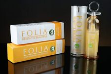 Folia Anti Aging Serum and Moisturizer Uneven Skin Pigmentation 1 oz each