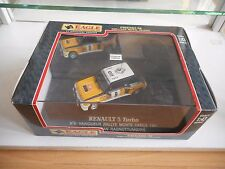 Universal Hobbies Renault 5 Turbo Rally Monte Carlo '81 in Yellow on 1:43 in Box