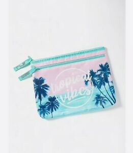 Justice Girl's TROPICAL VIBES Color Changing Bikini Bag New with Tags