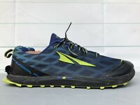 Altra Superior 2.0 Trail Running Shoes US Men's Sz 13 M Zero Drop (Blue/Green)