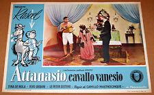 fotobusta film ATTANASIO CAVALLO VANESIO Renato Rascel 1953 #3