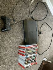 Sony Playstation 3 Super Slim 250GB Including 15 PS3 Games(All is Tested)
