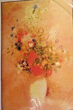 Redon Flowerss Sally Boyd C86712 #BD-01 Floral Vase Cross Stitch Kit New