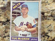 1966 Topps Tug McGraw New York Mets #124