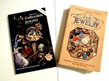 Answers To Questions About Old Jewelry 2nd Ed. Jeanenne Bell 1840-1950- Lot of 2