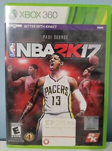 NBA 2K17 (Microsoft XBOX 360) Complete With Manual