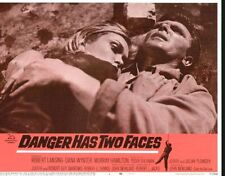 Danger Has Two Faces 11x14 Lobby Card #1