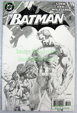 Batman #612 Jim Lee Sketch Variant vs Superman HUSH HTF 2nd Print Excellent Copy