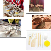 8pcs Pottery Sculpture Tool Clay Sculpting Carving Modeling Ceramic Tool Ki YK