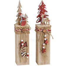 Weihnachtliche figuren aus holz ebay for Holzpfahl deko