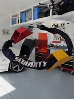 Bloccaggio a Terra Scooter Moto Officina Garage Box Ancoraggio Catena Lucchetto
