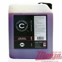 **BARGAIN TO CLEAR** Car Chem High Foaming Snow Foam / Shampoo **LARGE 5 LITRE**