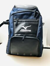 Mizuno Organizer G4 Batpack Baseball BagPack Blue/Black 9 x 14 x 20