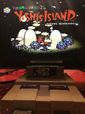 Super Mario World 2: Yoshi's Island (Super Nintendo, 1995) TESTED AND WORKS!