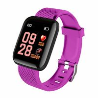 IP67 Montre Smart Watch Intelligente Barcelet Connectée Bluetooth 4.0 Violet ME