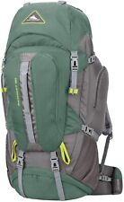 High Sierra Pathway Hiking Backpack 90l Pine/slate/chartreuse 104207-5744
