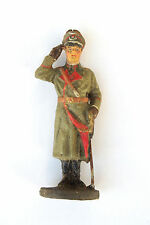 Pre-war Elastolin Lineol Germany Toy Soldier Panzer Colonel General Guderian 4-3