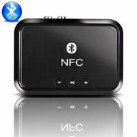 Wireless Bluetooth 4.1 RCA 3.5mm Speaker NFC Stereo Audio Music Receiv AdapterJR