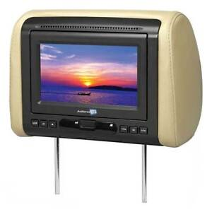 """AUDIOVOX MTGHRD1 7"""" Headrest Monitor With Dvd/hdmi Output 3 Covers (Each)"""
