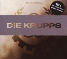 Die Krupps - Too Much History: Electro Years [New CD] Portugal - Import