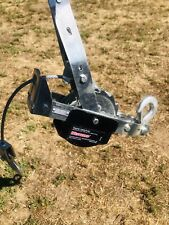 Westward Dual Ratchet Cable Puller 2000Lb pull Capacity 15ft cable/Rope length