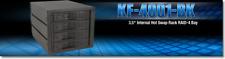"Kingwin KF-4001-BK 3.5"" Internal Hot Swap Rack RAID- 4 Bay"