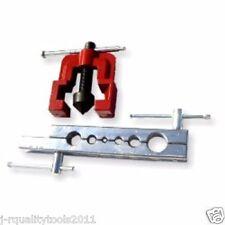 2pc Tubing Pipe Flaring Tools Set Kit Dies 3/16-5/8 Flare Tubing Brake Line