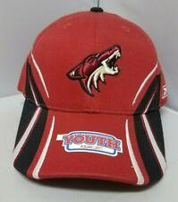 the best attitude 15c2c e5db4 NHL Reebok Arizona Coyote Burgundy Color Youth Adjustable Hat