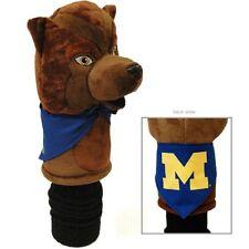New - Michigan Wolverines Mascot Golf Driver Headcover - Oversize Hawks