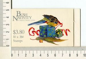 41230) AUSTRALIA 1990 MNH** QEII 38c (10) Christmas Booklet
