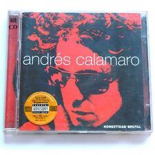 Andres Calamaro 2 CD Honestidad Brutal 1999 Argentinian Pop Rock Album