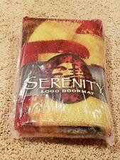 Firefly Serenity Loot Crate Logo Door Mat