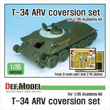 DEF.MODEL, DM35095, Soviet T-34 ARV coversion set (for 1/35 Academy kit) , 1:35