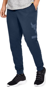 Under Armour Mens Project Rock Terry Jogger Pants 1345820-408 Size L NWT
