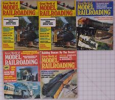 Great World of Model Railroading Magazines (5) 1976-79