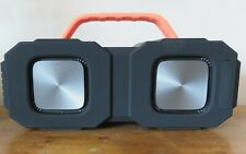 Bluetooth speakers Bugani M83. Black/orange. Used once. Perfect condition