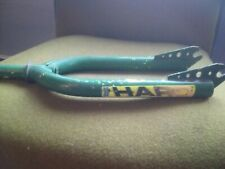 """Haro Bike Fork Green and Yellow Old School Bmx Gt 20"""""""