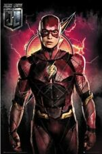 JUSTICE LEAGUE ~ FLASH SOLO~ 24X36 JLA MOVIE POSTER ~ NEW/ROLLED! EZRA MILLER