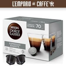 70 Capsule Caffe Nescafe Dolce Gusto Espresso Barista Extra Crema + 10 Omaggio