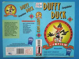 Solo Copertina Fascetta DUFFY DUCK Compilation avo film no vhs dvd cd lp a