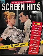 Screen Hits--Annual--1956--James Dean Rebel without Cause 6 pages-----179