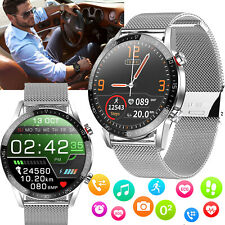 Waterproof Bluetooth Smart Watch Heart Rate Tracker for Samsung iPhone LG Huawei
