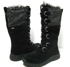 UGG ATLASON FRILL WOMEN BOOTS BLACK  US 10 /UK 8.5 /EU 41