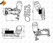 ENGINE OIL COOLER NRF OE QUALITY REPLACEMENT 31350