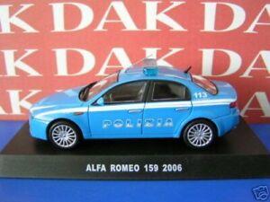 Die cast 1/43 Modellino Auto Polizia Police Alfa Romeo 159 2006