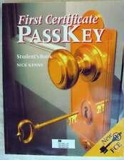 FIRST CERTIFICATE PASSKEY - ESTUDENT'S BOOK - NICK KENNY 1998 - VER DESCRIPCIÓN