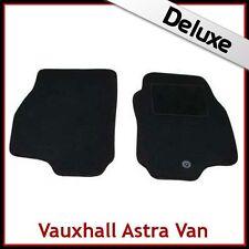 VAUXHALL ASTRA G Van 1998-2004 Tailored LUXURY 1300g Carpet Car Mats BLACK